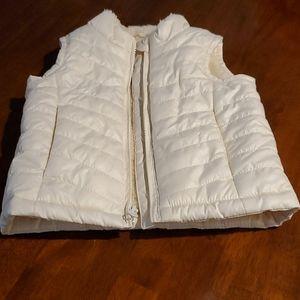 Baby Gap Cozy Shearling Interior Vest 12-18 Mon